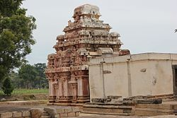 View of Rameshvara temple (9th century A.D.)
