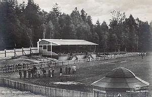 Ramnavallen - Ramnavallen in 1920, called Borås Idrottsplats in that time.