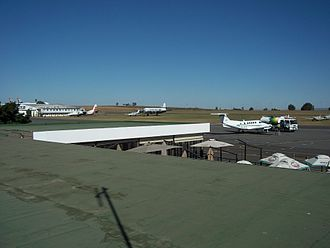 Rand Airport - Rand Airport from the observation deck