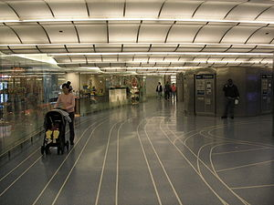 Millennium Station - Image: Randolph Street Terminal (Millennium Station)