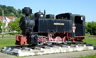 Reșița Steam Locomotive Museum - Image: Reŝico, lokomotivo Principesa Elena, 5