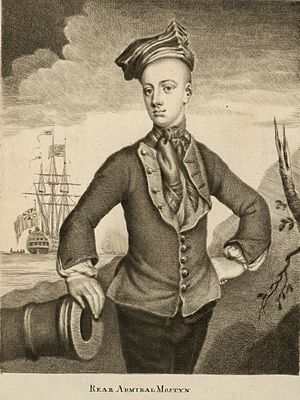 Savage Mostyn - Image: Rear Admiral Savage Mostyn died 1757