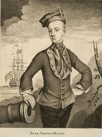 Savage Mostyn - Image: Rear Admiral Savage Mostyn died 1757