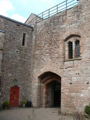 Rear of St Briavels Castle Gatehouse