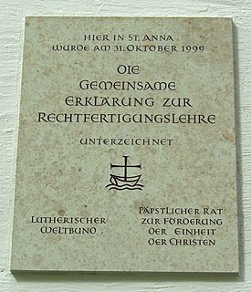 Joint Declaration on the Doctrine of Justification 1999 text resulting from an extensive ecumenical dialogue