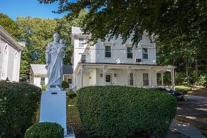 St. Joseph's Church Complex (Cumberland, Rhode Island) - Image: Rector's house St Josephs Church