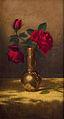 Red Roses in a Japanese Vase on a Gold Velvet Cloth-Martin Johnson Heade.jpg