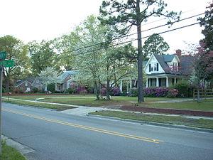 Red Springs, North Carolina - Main Street