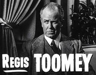 Regis Toomey actor