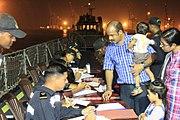 Registration of Indian citizens evacuating from Yemen in progress (2015) - 1