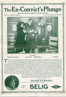<i>The Ex-Convicts Plunge</i> 1913 film by Hardee Kirkland