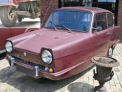 Reliant Regal 3/30 (1968–1971)
