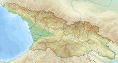 Mapa lokalizacyjna Gruzji