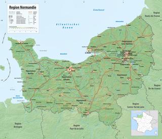 karte normandie Normandie – Wikipedia