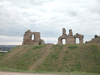 Sandal Magna - Image: Remains of Castle, Sandal Magna geograph.org.uk 35344