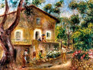 La maison de Collette à Cagnes