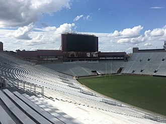 Doak Campbell Stadium - The scoreboard in the northern end zone