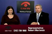 File:Rep. Robert Martwick - Political Forum on CAN TV.webm