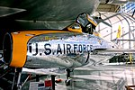 Republic F-84F Thunderstreak, 1950 - Evergreen Aviation & Space Museum - McMinnville, Oregon - DSC00586.jpg