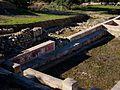 Restes arqueològiques de la Costa del Castell de Xàtiva, pintures murals.JPG