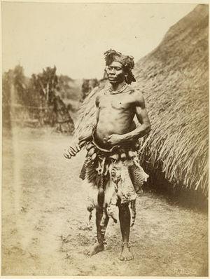 Richard Buchta - Portrait of a Zande witchdoctor