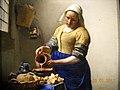 Rijkmuseum - Milkmaid by Vermeer - panoramio.jpg