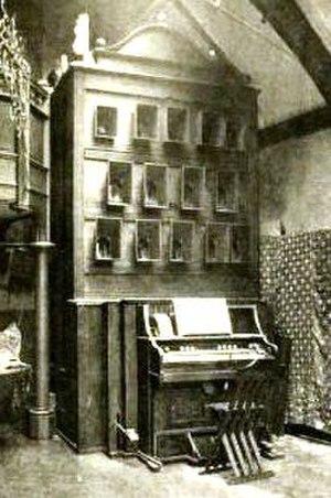 Alexander Wallace Rimington - Photograph of A. Wallace Rimington's invention the Colour Organ