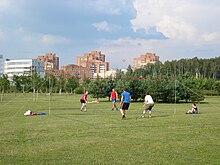 Площадка для игры в городки - 7cfe4