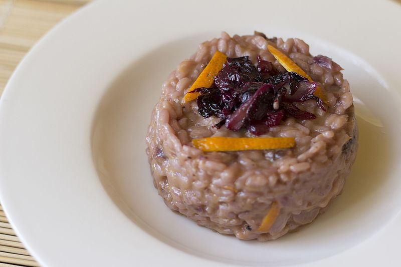 File:Risotto with radicchio and oranges (32407613653).jpg