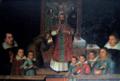 Ritratto di famiglia Gonzaga Novellara durante una celebrazione del vescovo.png