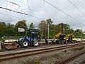 Road-rail excavators at Østerport Station 01.jpg