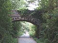 Road bridge over the Camel Trail, near Tregunna - geograph.org.uk - 50992.jpg
