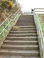 Road replaced by steps, near Moorfields - geograph.org.uk - 1274451.jpg