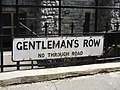 Road sign for Gentleman's Row, Enfield - geograph.org.uk - 1265091.jpg