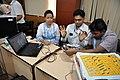 Robot Building Session - Workshop on Organising Indian and World Robot Olympiad - NCSM - Kolkata 2016-03-07 2286.JPG