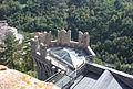 Rocca di Arquata del Tronto - copertura pentagonale del torrione.jpg