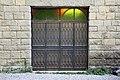 Rocchetta mattei, esterno, gradinata.jpg
