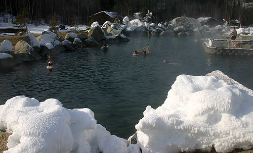 Rock Pool at Chena Hot Springs