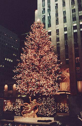 Rockefeller Center Christmas Tree - Image: Rockefeller Center Tree