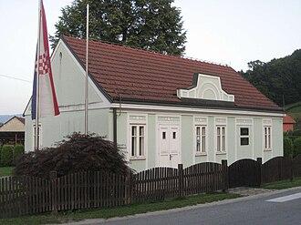 Franjo Tuđman - Franjo Tuđman's childhood home in Veliko Trgovišće