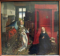 Rogier van der weyden (bottega), annunciazione, 1440 ca. 01.JPG