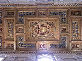 Rom, Basilika San Giovanni in Laterano, Decke der Basilika 2