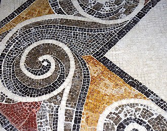 Malta - Roman mosaic from the Domvs Romana.