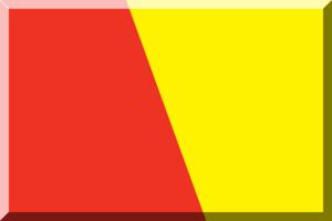 Nemzeti Bajnokság I (men's handball) - Image: Rosso e Giallo in diagonale