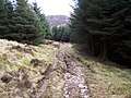 Rough track washed out. - geograph.org.uk - 128402.jpg