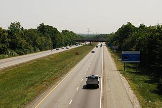 Massachusetts Route 24 Highway in Massachusetts