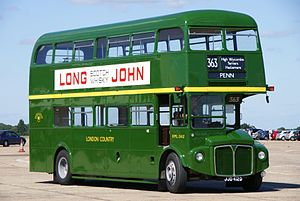 Routemaster RML2412 (JJD 412D), 2010 North Weald bus rally.jpg