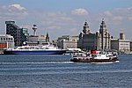 File:Royal Daffodil and Ocean Countess, River Mersey (geograph 2976046).jpg
