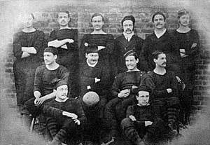 1875 FA Cup Final - Royal Engineers, 1875 winning team
