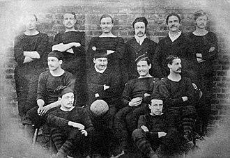 1875 FA Cup Final - Royal Engineers, 1875 winning team